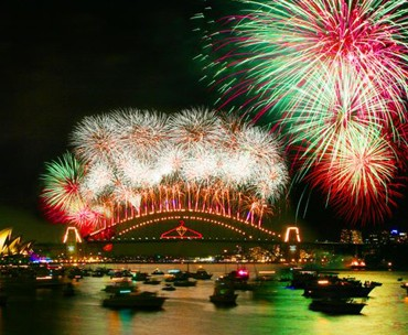Color Crush: Sydney Fireworks 2012