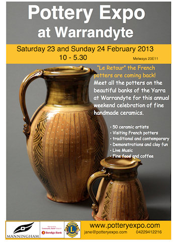 Should I Stay Or Should I Go??? Warrandyte Pottery Expo