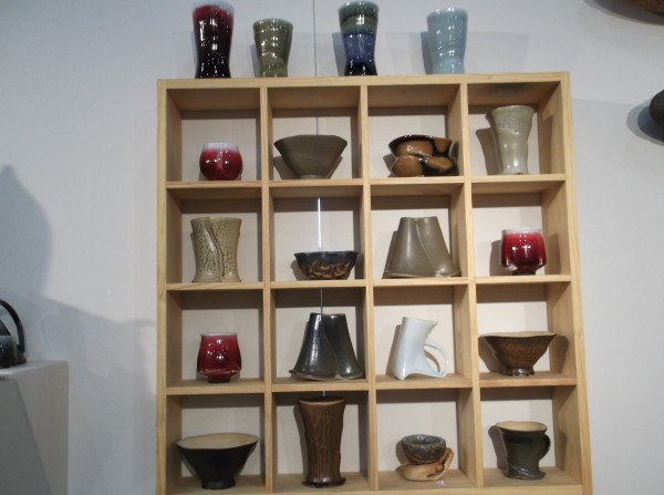 Susan Filley's Copper Red Porcelain Pottery