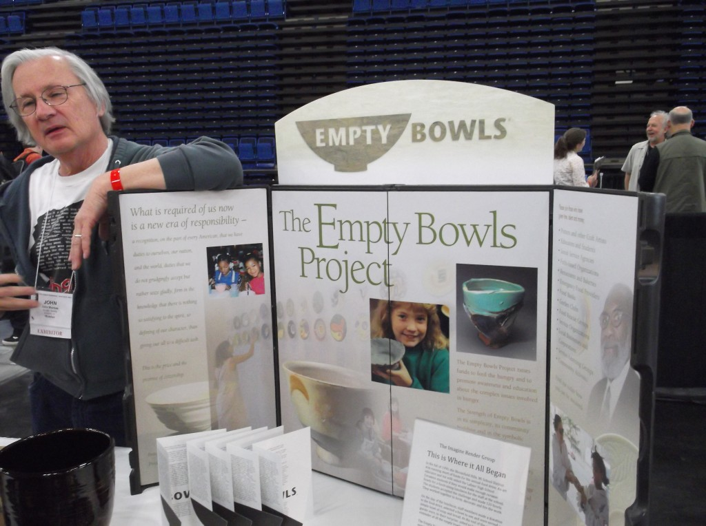 Empty Bowls Project Booth