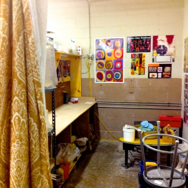 One Example of Studio Space at Clayways