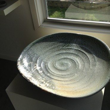 Woodfired Platter by Zak Chalmers- Valley Plains Pottery
