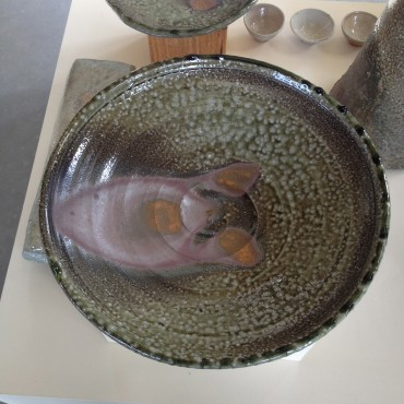 Woodfired Bowl by Zak Chalmers- Valley Plains Pottery