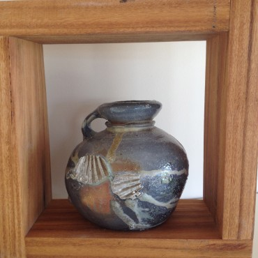 Woodfired Pot by Zak Chalmers- Valley Plains Pottery