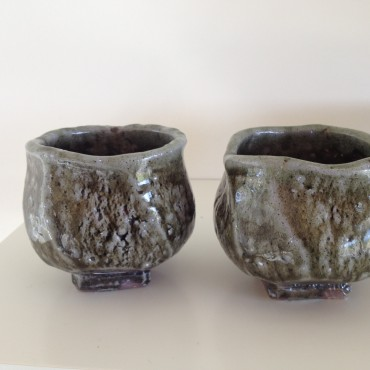 Woodfired Pots by Zak Chalmers- Valley Plains Pottery