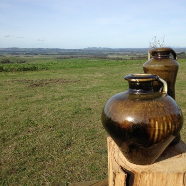 Woodfired pots by Zak Chalmers-Valley Plains Pottery