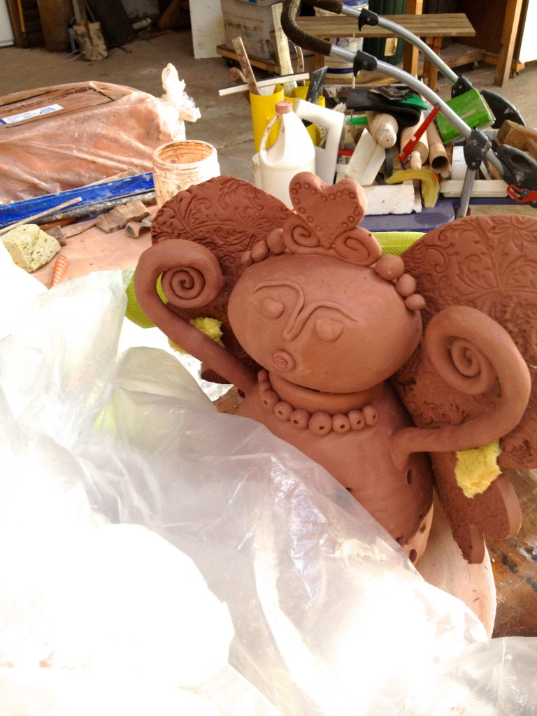 Clay Angel by Marian Williams