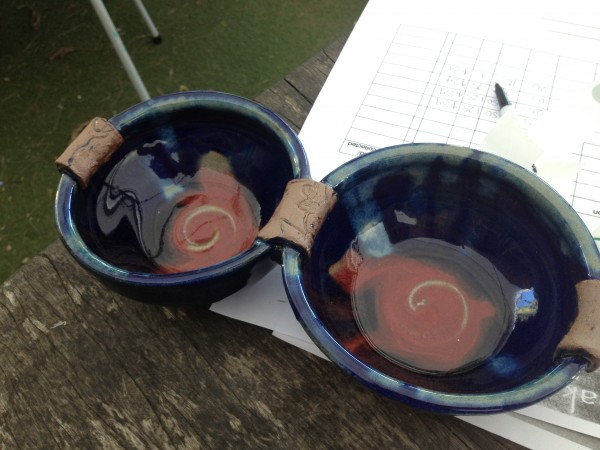 Bowls In Sheoak Gallery in Fingal, NSW Australia