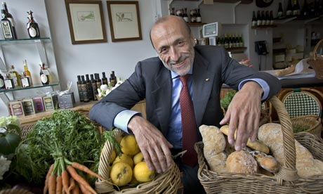 Carlo Petrini, the founder of the Slow Food Movement Photo Source