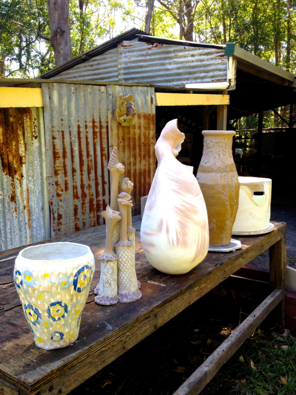 Woodfiring Pottery BBQ: Pots And Goannas!