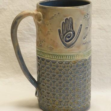 Make some nifty handbuilt mugs!