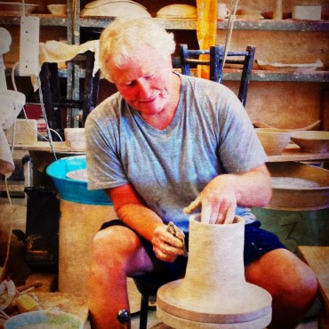 Another defining moment in my pottery career!  The Malcolm Greenwood Workshop!  He is amazing and so generous!