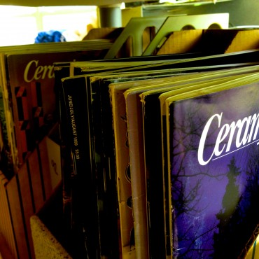 Tons of Ceramic Monthly Magazines!