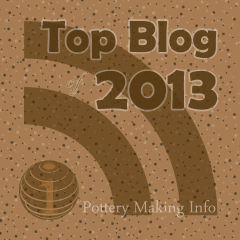 Best Pottery Blogs of 2013!  And Why I Blog