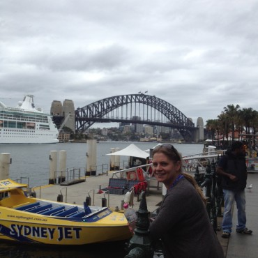 Lyndall Bensley and the Sydney Harbour Bridge