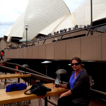 Lyndall Bensley at the Sydney Opera House
