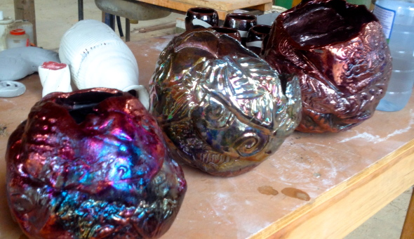 How To Make Raku'd Balloon Bowls!
