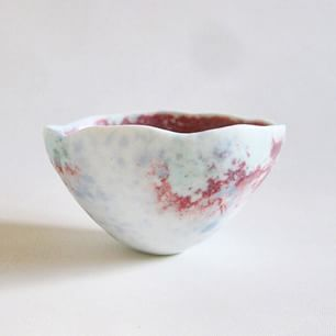 Yukari Obuchi's beautiful subtlely glazed bowl.