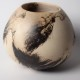 Feather And Horsehair Raku