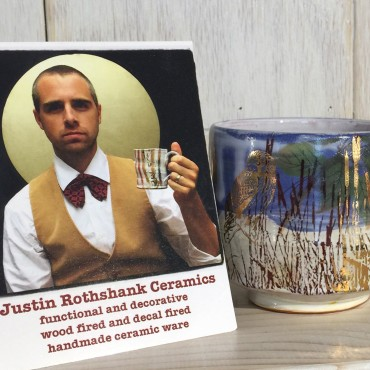 Loved seeing a Justin Rothshank cup in person.