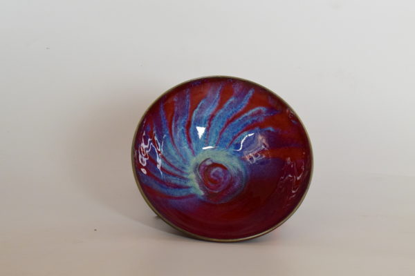 Copper Red and Chun Glaze, Cone 10 Gas Reduction