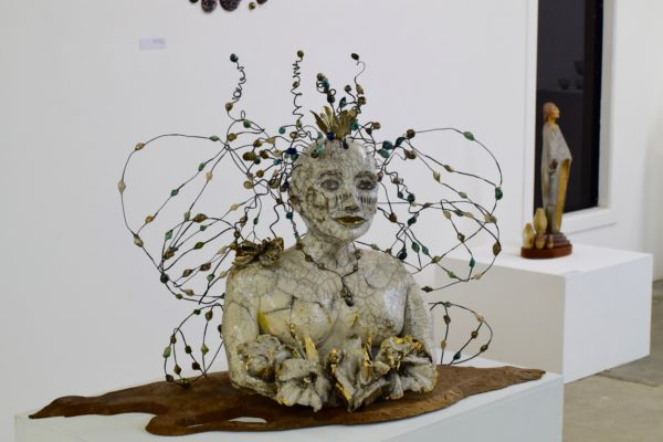 Figurative Sculpture, Marian Williams, Embattled Earth Angel