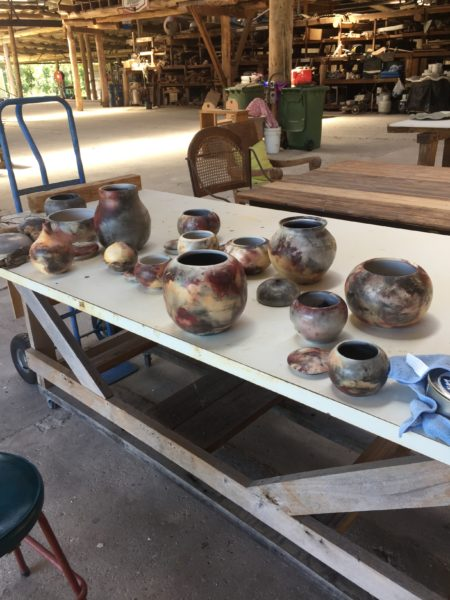 Barrel firing, alternative firing, pottery