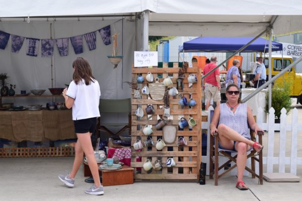 Murwillumbah, Stone & Wood Brewery Open Day, Market stall