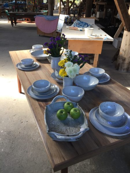 recycled clay, rustic tableware, tableware, white tableware